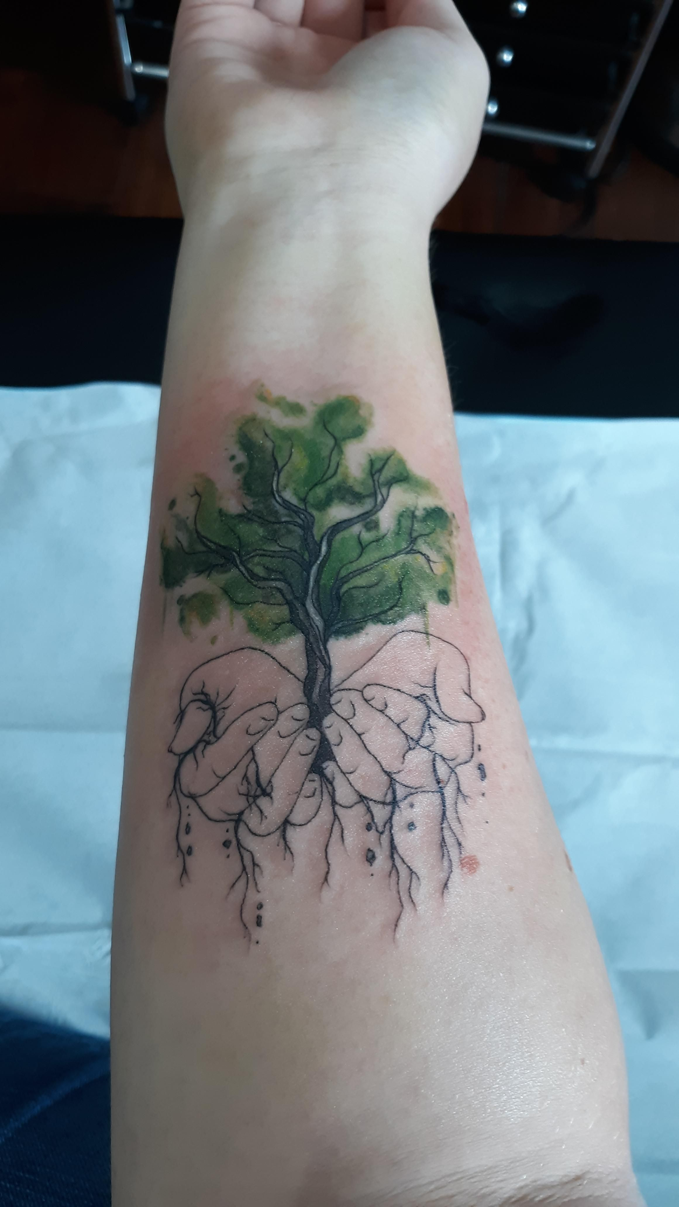 Got my third tattoo done at Heart and Skin Fort Collins CO. Kelsey ...