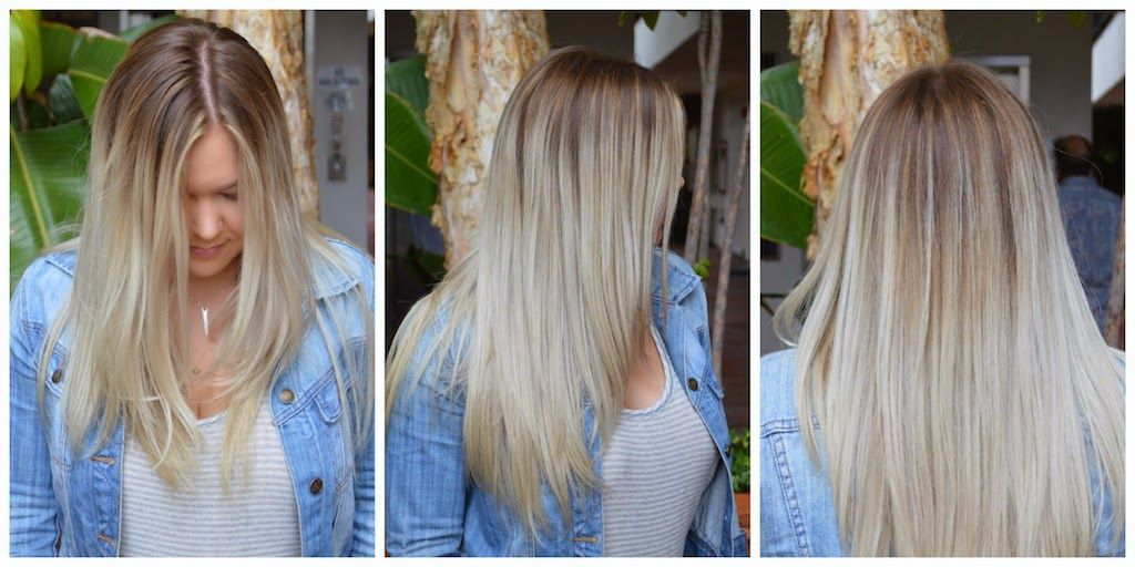 Alexsis Mae Sombre Root Smudge My Hair Color Hair Ideas