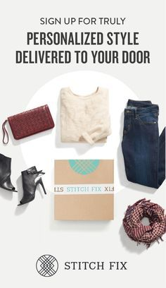 Refresh your wardrobe with the best of fall fashion, handpicked for your body, budget and busy schedule. Fill your Stitch Fix Style Profile, and your personal stylist will send the latest trends right to your doorstep. Keep only what you love, and send the rest back—shipping is always free both ways!