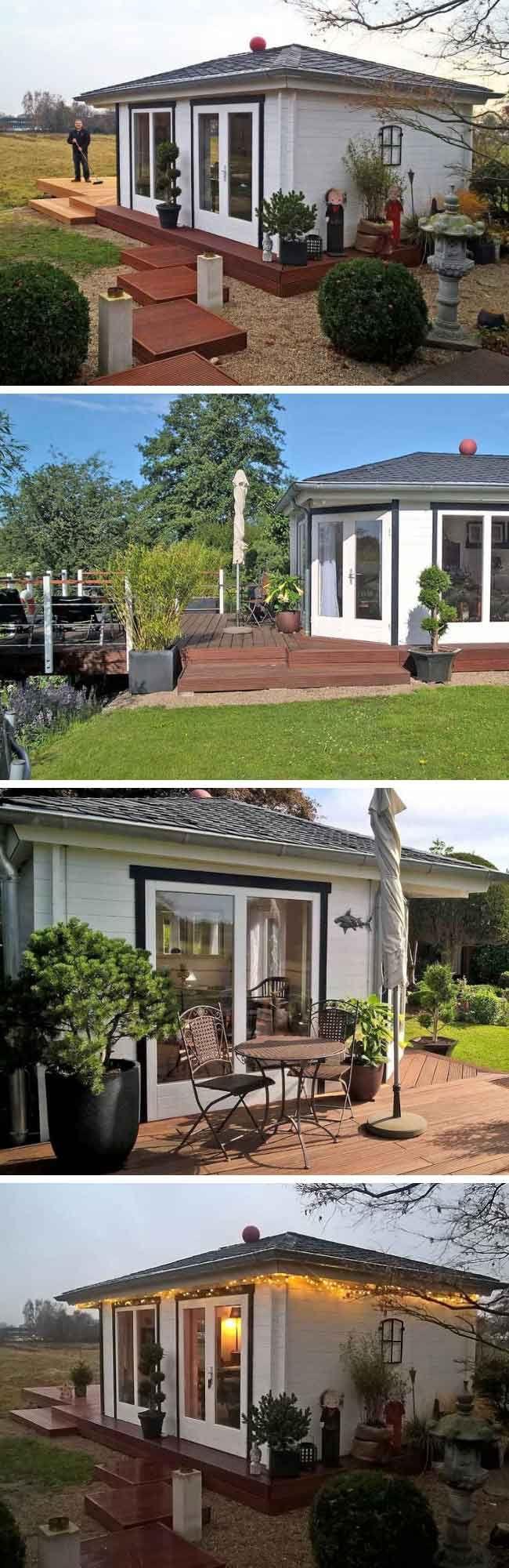 Gartenhaus Julia Perfekt gedämmt vom Boden bis zum Dach