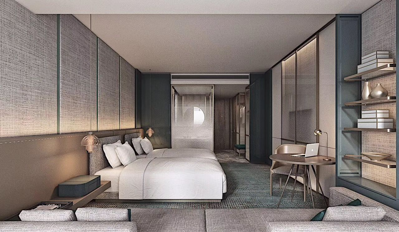 Pin By Melek Ercakica On A睡房 Hotel Bedroom Design Luxurious Bedrooms Hotel Room Design