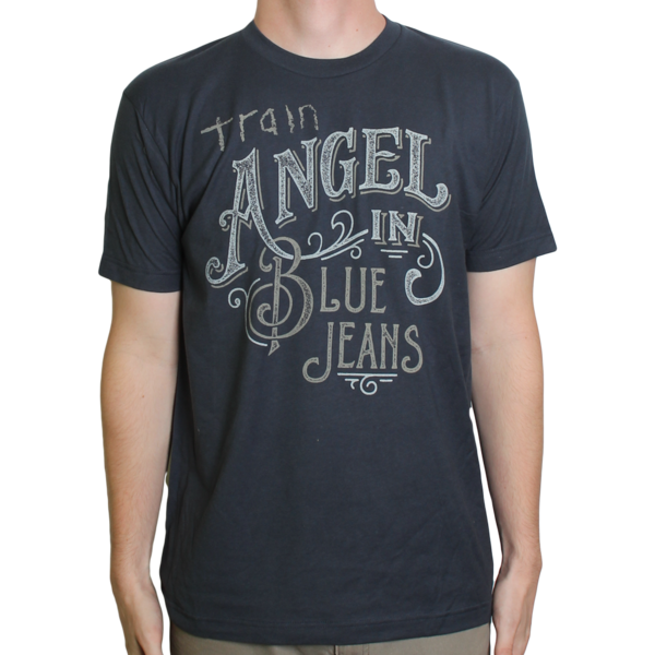 6b68c725 Navy Blue Angel In Blue Jeans Train T-shirt   apparel   Band shirts ...