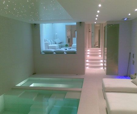 basement indoor pool Google Search it looks like 8 ceilings with