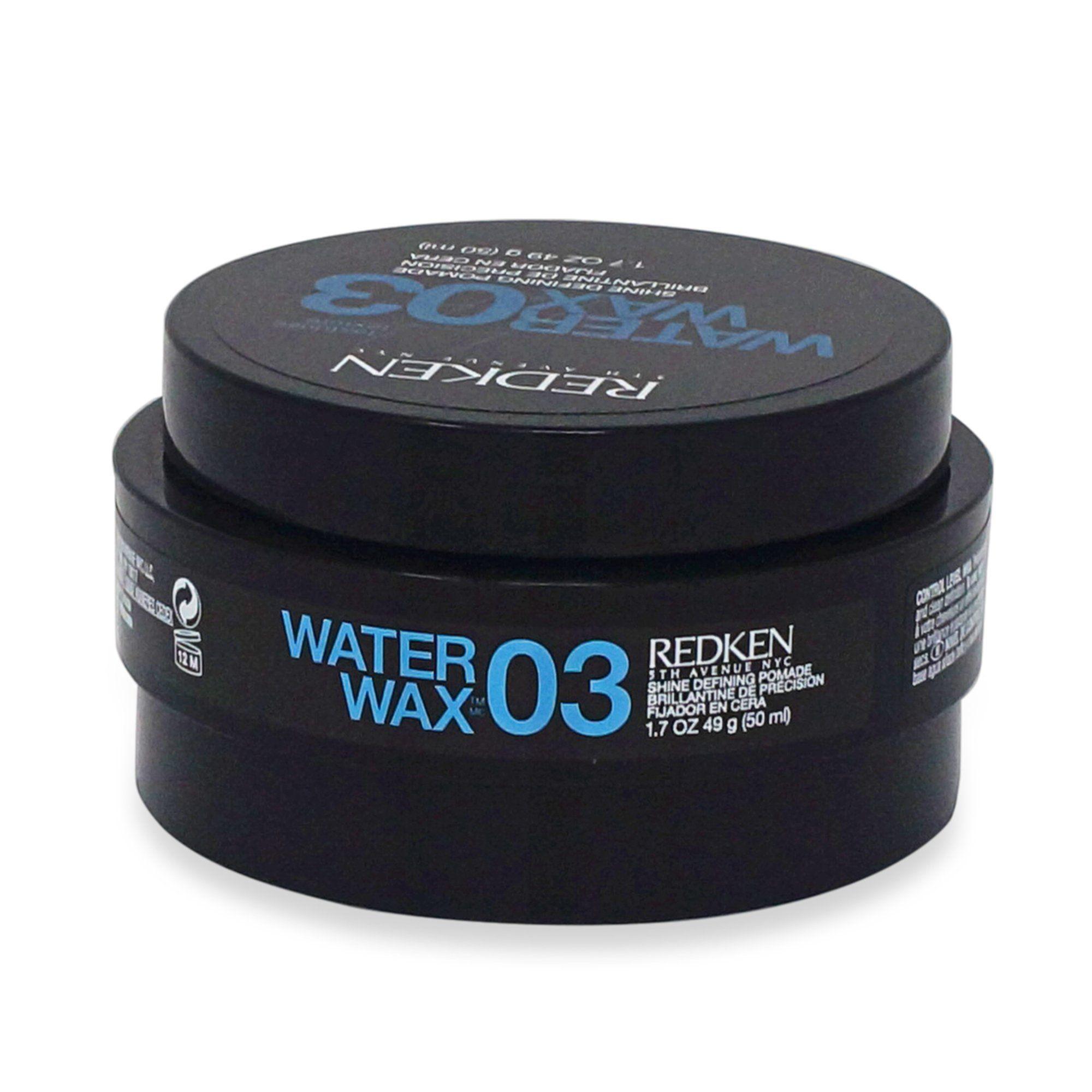 Redken 03 Water Wax Shine Defining Pomade 1.7 Oz Pomade