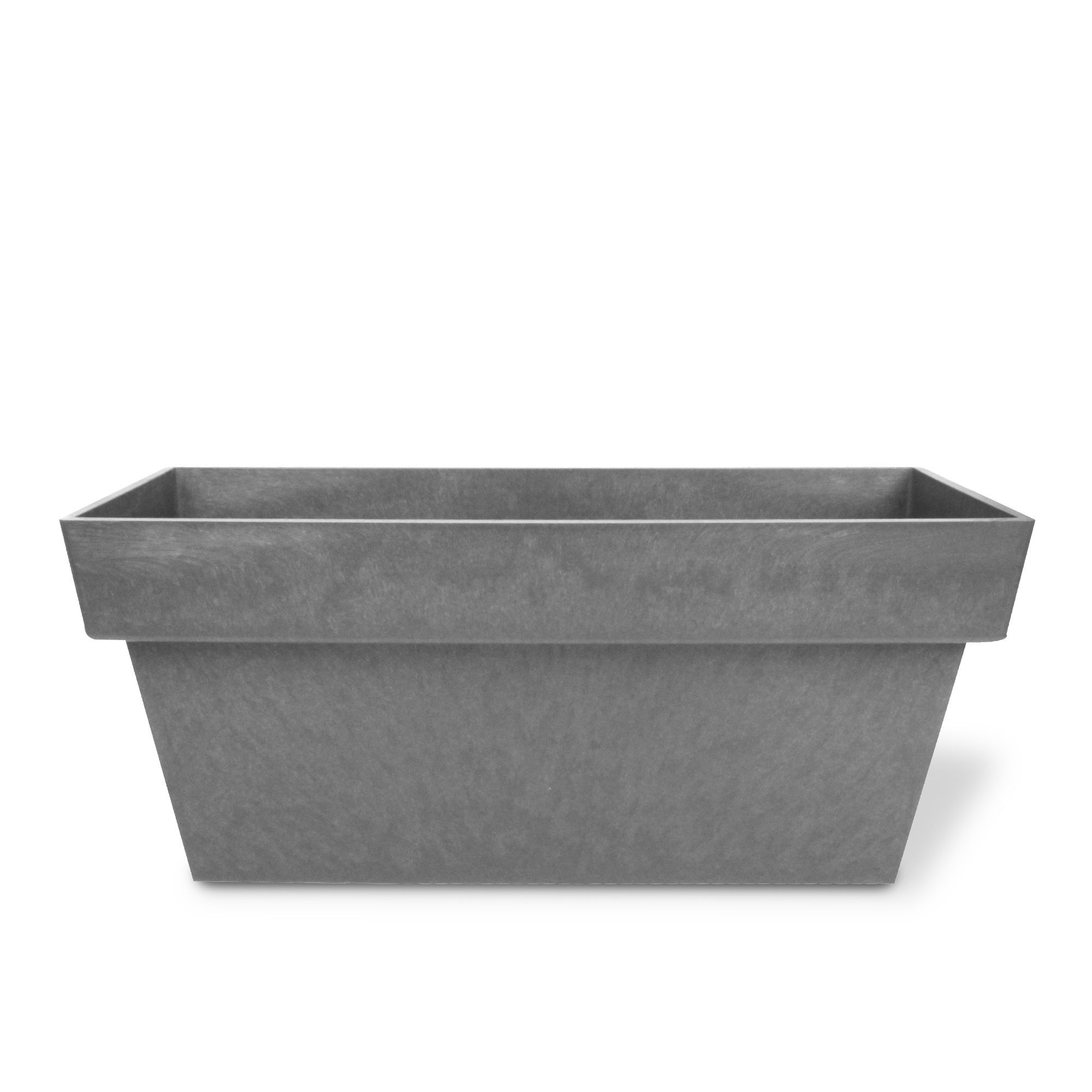 Jardini¨re 80x35x35cm ANTHRACITE Anthracite Orion Cache pots