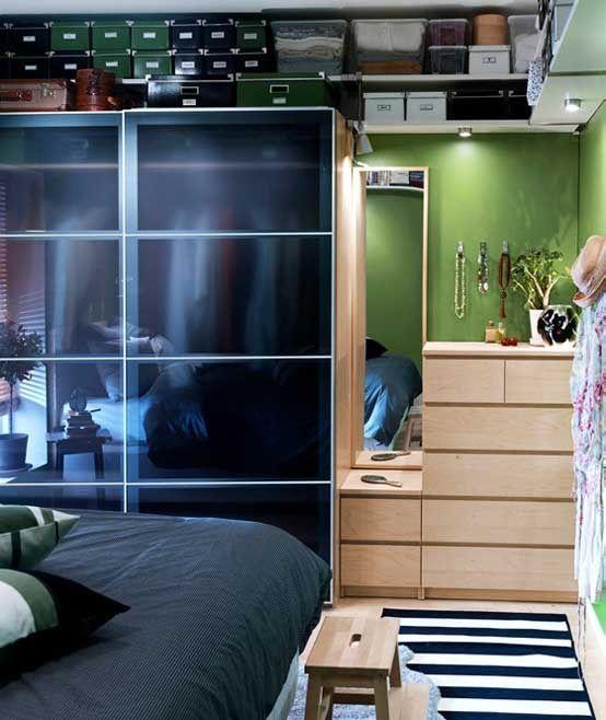44 Smart Bedroom Storage Ideas | DigsDigs · Ikea Bedroom DesignIkea ...