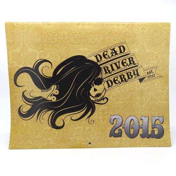 Roller Derby - 2015 Calendar – Steampunk Edition - Dead River Derby :: Marquette, Michigan