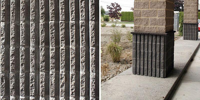 We Explain The Different Styles Of Concrete Blocks Concrete Blocks Brick House Designs World Of Concrete