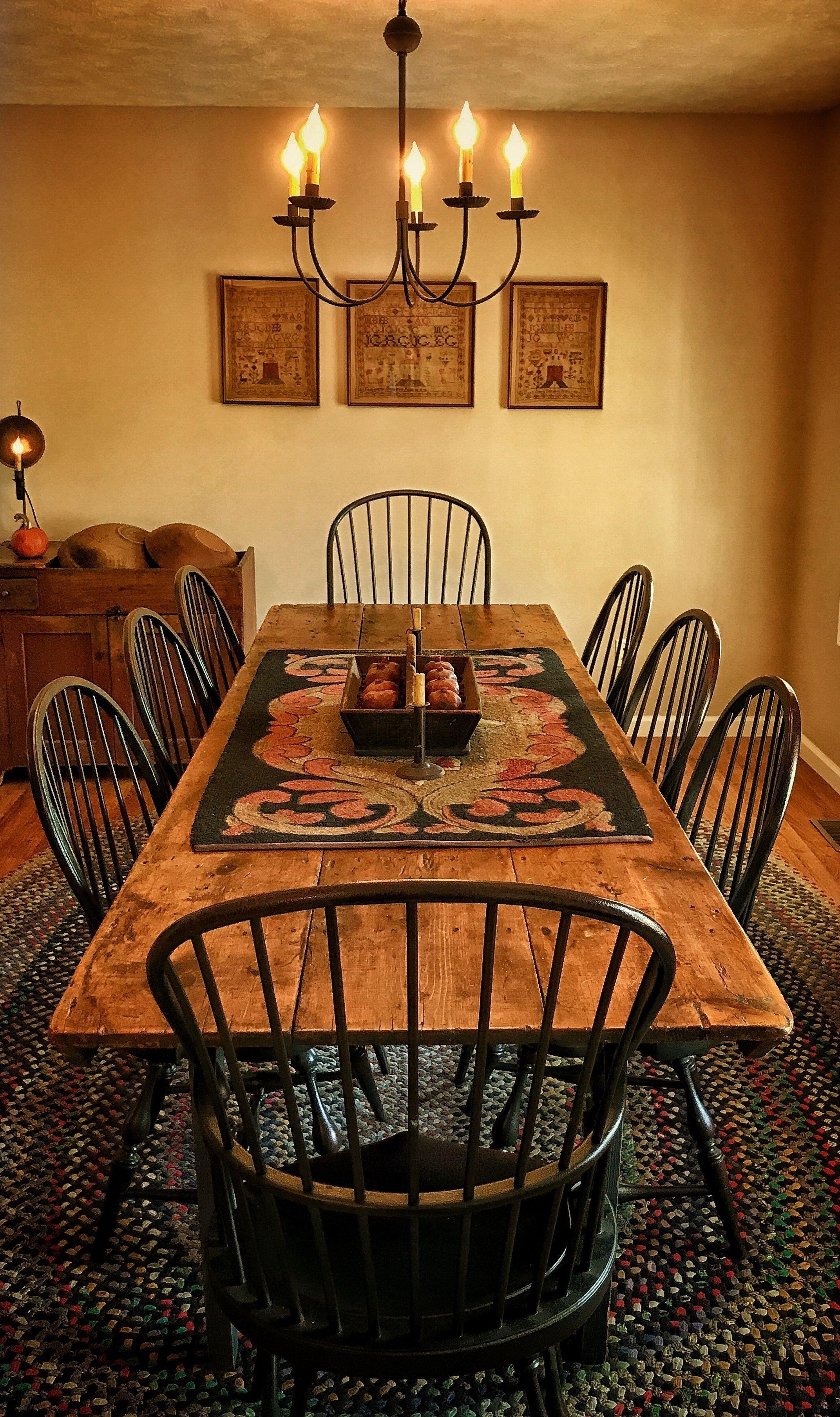 44 stylish farmhouse dining room table decorating ideas