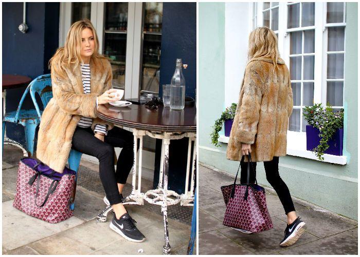 Looklovewear Topshop Coat, Nike Air Max Thea, Topshop High