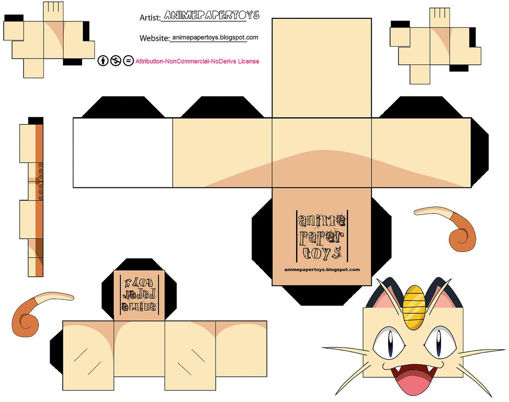 MEOWTH (POKEMON) | OT Activities | Cubecraft, Sobres de ... - photo#34