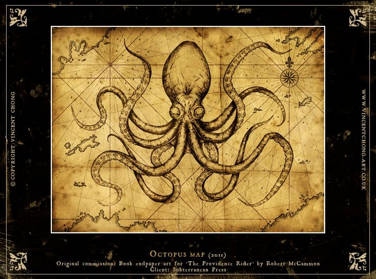 octopus monster map - Google Search