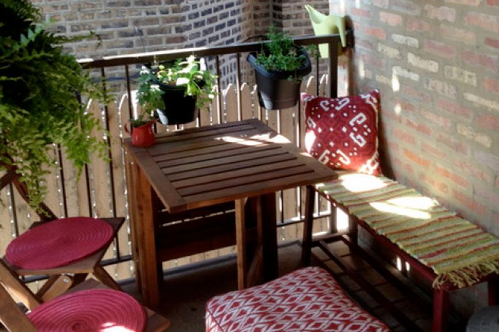 20 idee creative per arredare un balcone piccolo casa