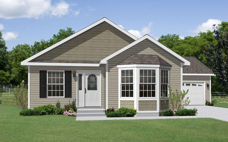 Planos de casa de madera de un solo nivel tres for Casas americanas de madera