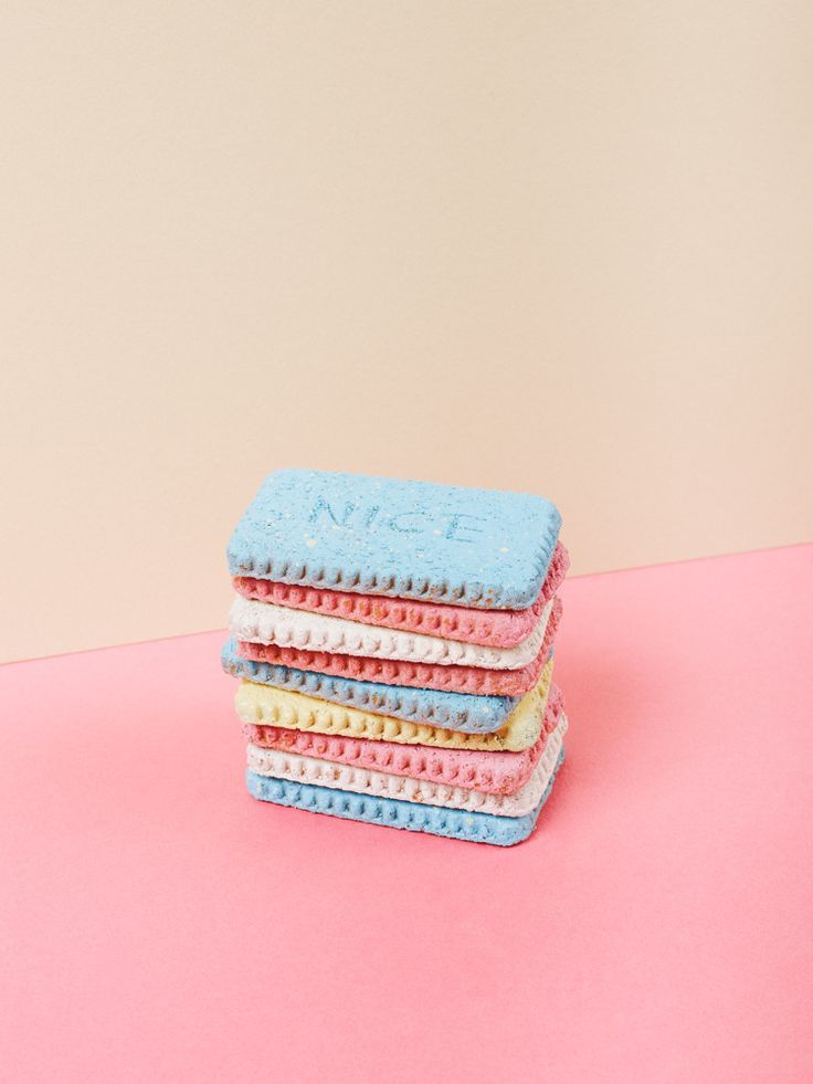 The Biscuit Project: Still life pastel photography series by duo Matt Lain and Toni Caroline.