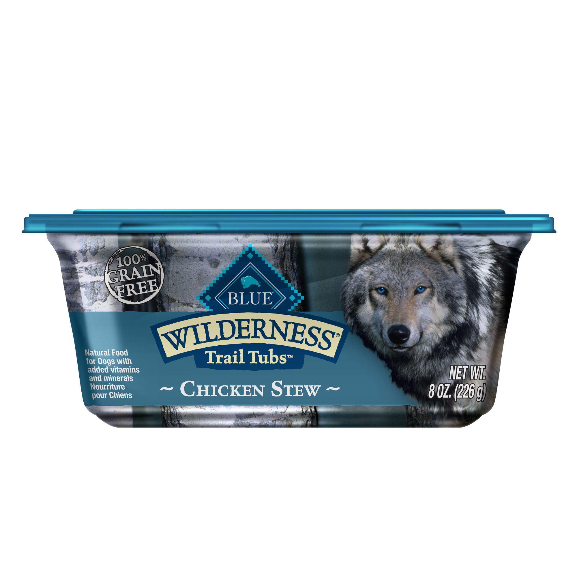 Blue wilderness trail tubs dog food natural grain free