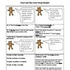 This worksheet teaches the difference between count and non-count nouns.  Clip art by KPM Doodles...