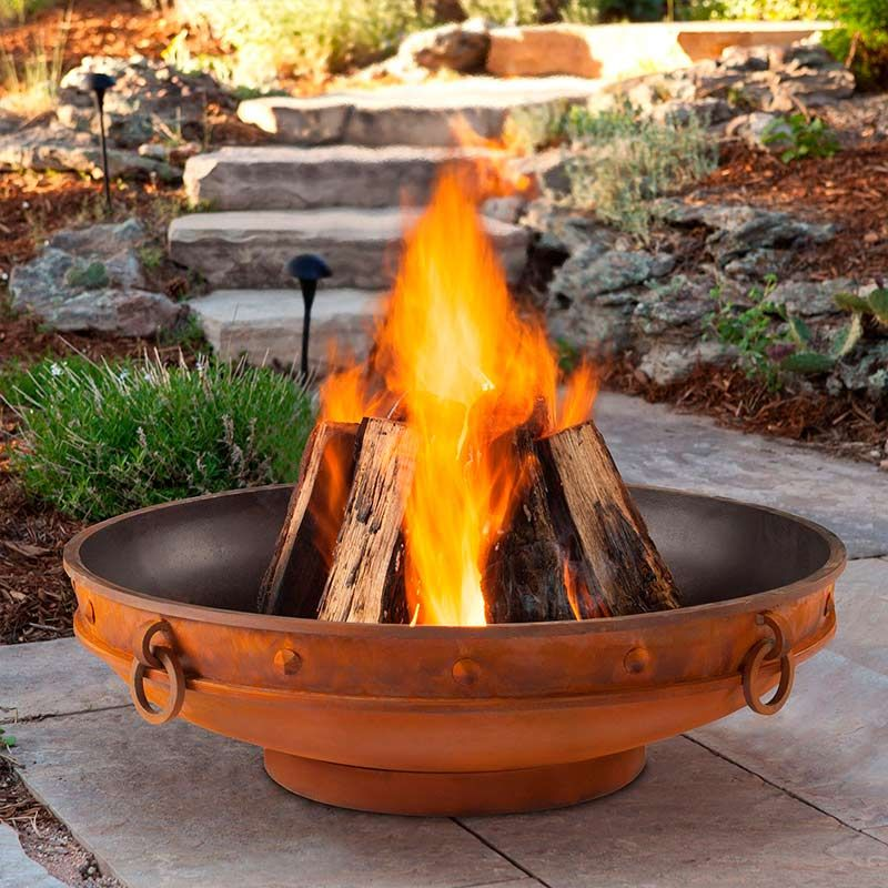 Windham Wood Burning Fire Pit Outdoor fire, Wood burning