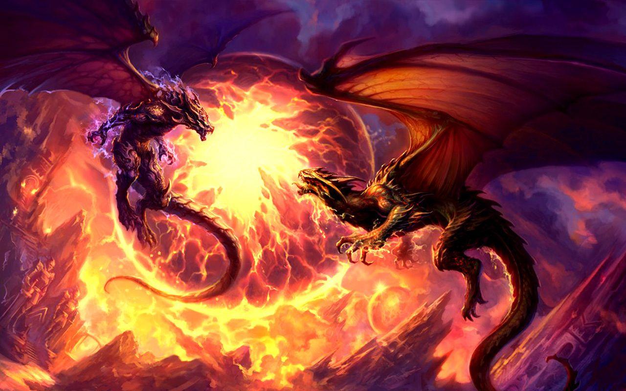 Dragon Wallpaper Dragon Pictures Dragon Fight Fantasy Dragon