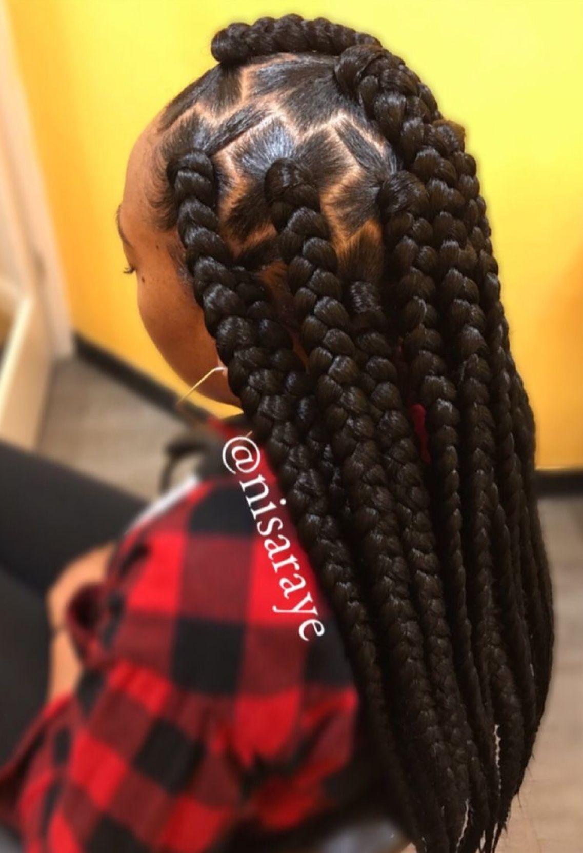 Pinterest: @autumn_buh🍭 in 2019 | Braided hairstyles, Box ...
