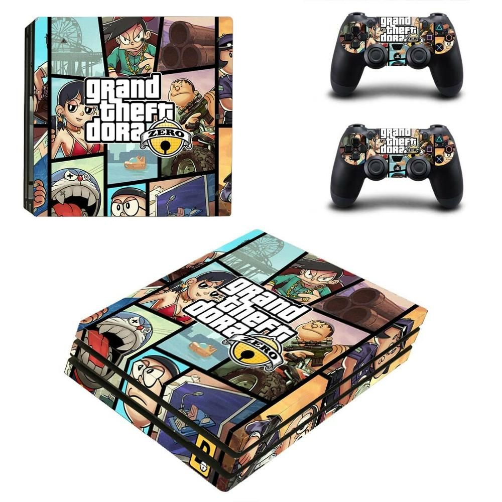 Grand Theft Auto V Gta 5 Ps4 Pro Sticker Play Station 4 Skin Sticker Decals For Playstation 4 Ps4 Pro Console Controller Skins Ps4 Skins Playstation 4 Console Grand Theft Auto