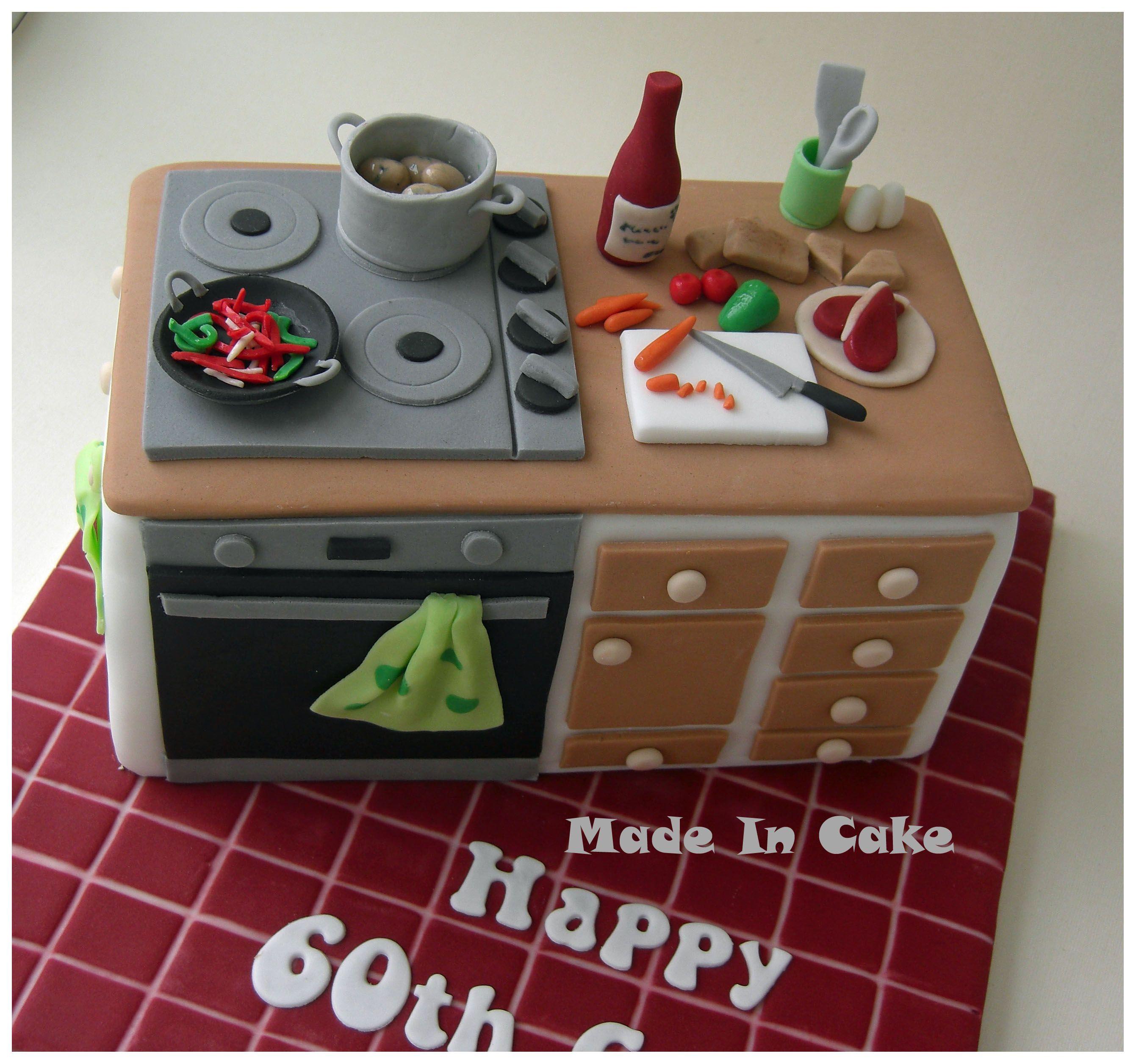Kitchen Design Cake