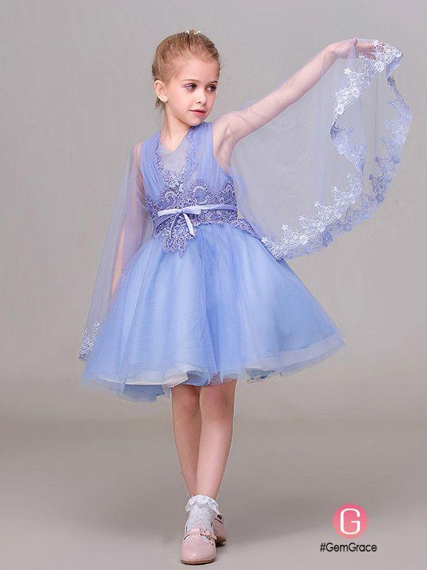 Cute Pink Sweetheart Tutu Lace Flower Girl Dress #EFD01 ...