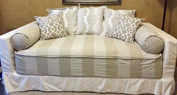 Fitted Daybed Cover With Cording Piping In Twin Twin Xl And Full