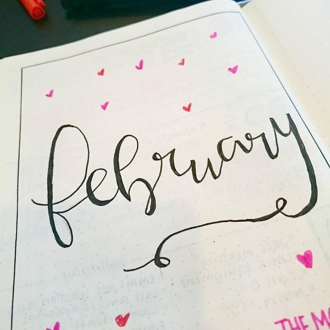 Cursive February Font - Letter