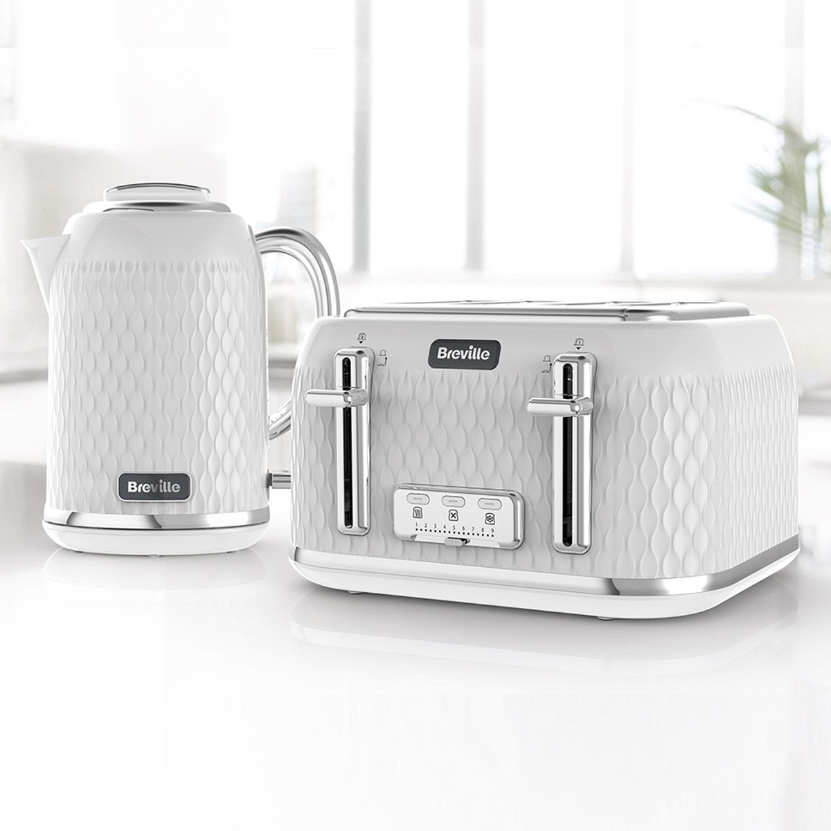 Jug Kettle & 4 Slice Toaster