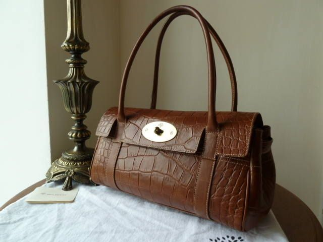 ea3c56f4a2 Mulberry East West Bayswater in Oak Printed leather  gt  http   www.