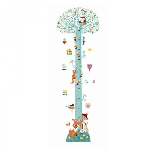 Superb Djeco Wandsticker Messlatte Baum Bonuspunkte sammeln auf Rechnung bestellen Blitzlieferung per DHL