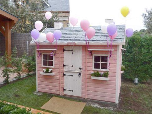 Casita de madera infantil modelo caserio esta vez se for Casa madera infantil
