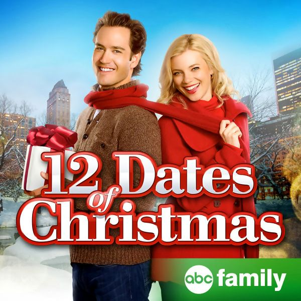 12 dates of christmas is a television film starring amy smart and mark paul gosselaar it premiered on abc family on december 11 2011 in their 25 days of - 12 Dates Of Christmas Movie