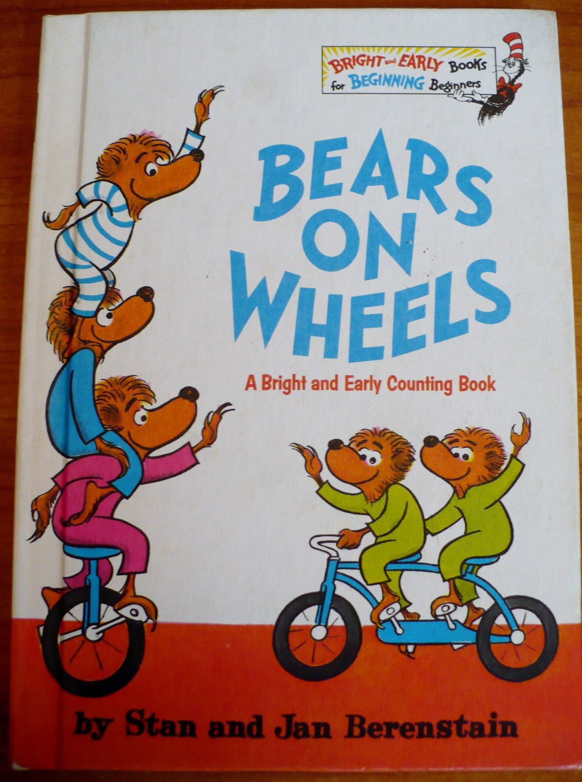 The Berenstain Bears - Bears On Wheels by Stan and Jan Berenstain ...