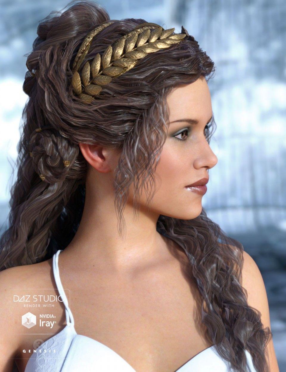 Odessa Hair For Genesis 3 Female S Hair Long Hair Styles Womens Hairstyles