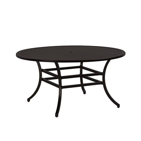 Newport Round Dining Table 60 Inch Round Outdoor Dining Table