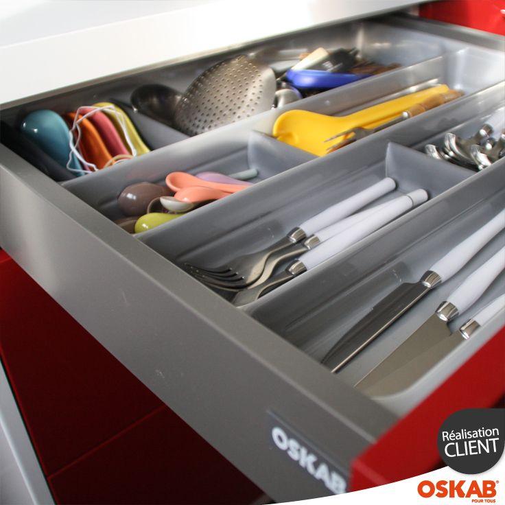 Range - couverts | Rangement tiroir cuisine, Tiroir cuisine, Rangement tiroir