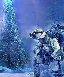 camouflage and christmas lights thenationalpatriotcom