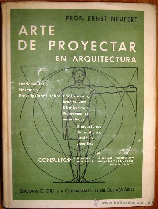 Art Of Projecting In Architecture Pro Ernst Neufert Year 1948