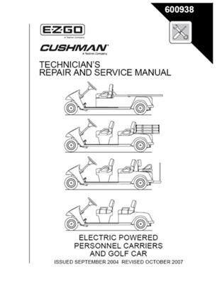EZGO 600938 2005-2007 Technicians Repair and Service