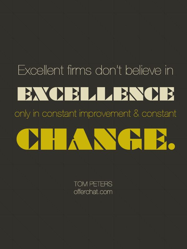 http://www.offerchat.com/ #quotes #tompeters