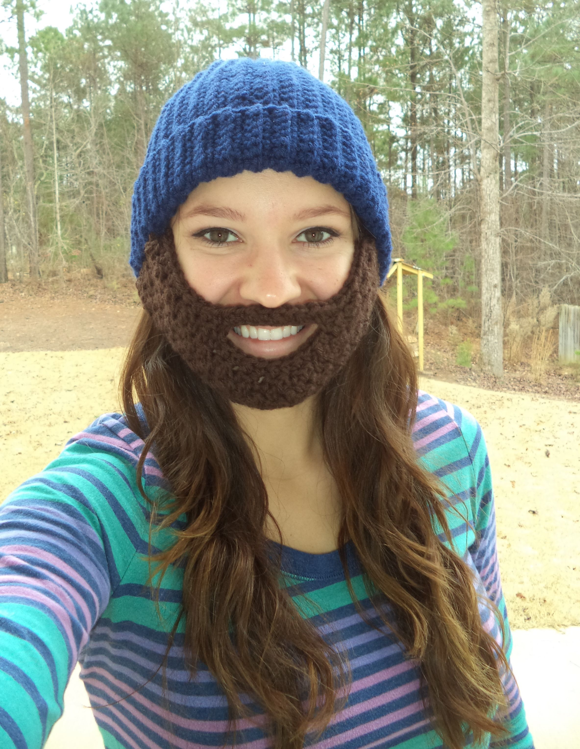 Awesome bearded hat!!