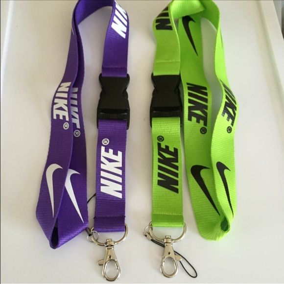 2 for $11 Nike ID Card Holder Lanyards New Nike ID Card Holder Lanyards I do bundle discount:  price is firm.  1 for $7 2 for $11 3 for 15 Nike Accessories Key & Card Holders