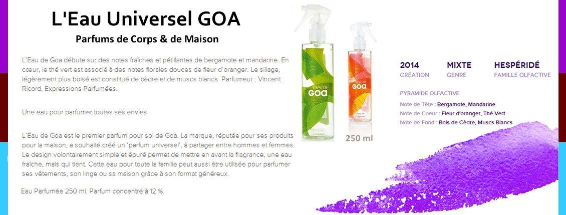 Parfum-goa vaporisateur Vert - Lu0027eau de GOA GOA Pinterest Goa - cree sa maison en d