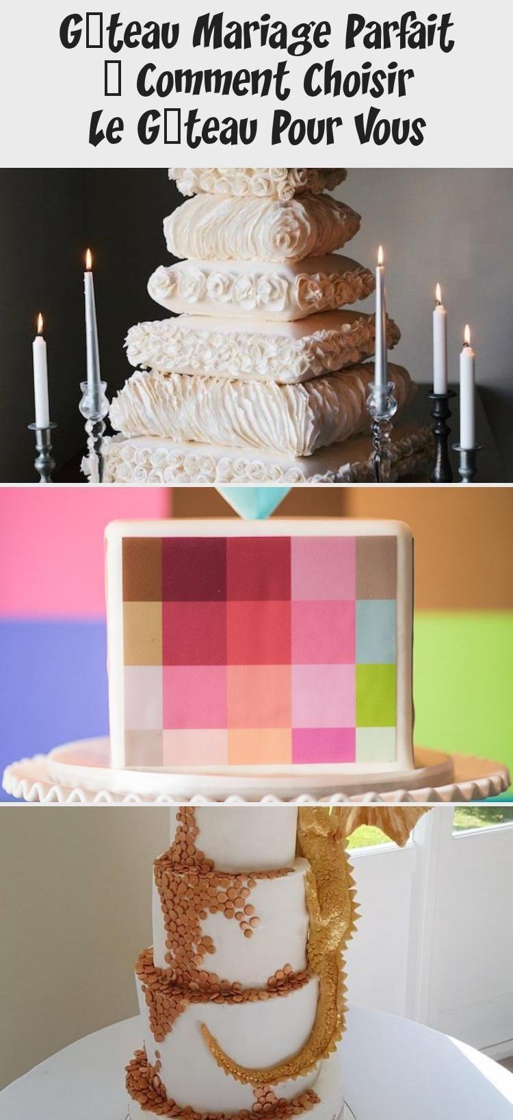Gâteau Mariage Parfait - Comment Choisir Le Gâteau Pour Vous in 2020 | Unique wedding cakes
