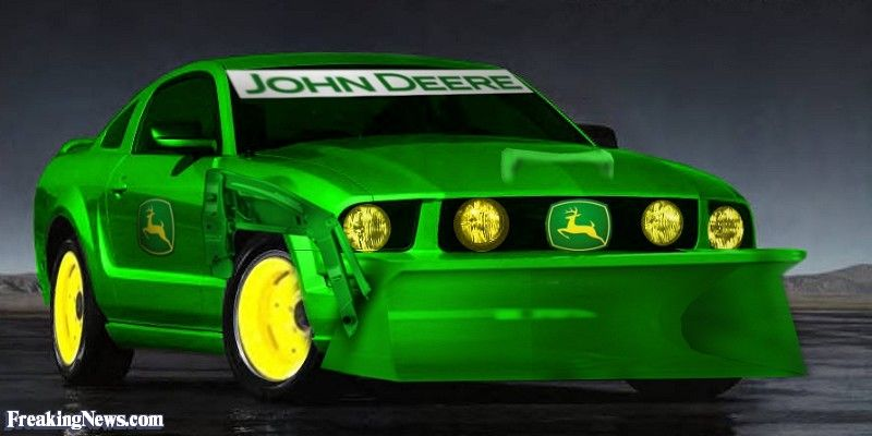 John Deere Car Pictures Freaking News Mustang Automobile Four Wheelers
