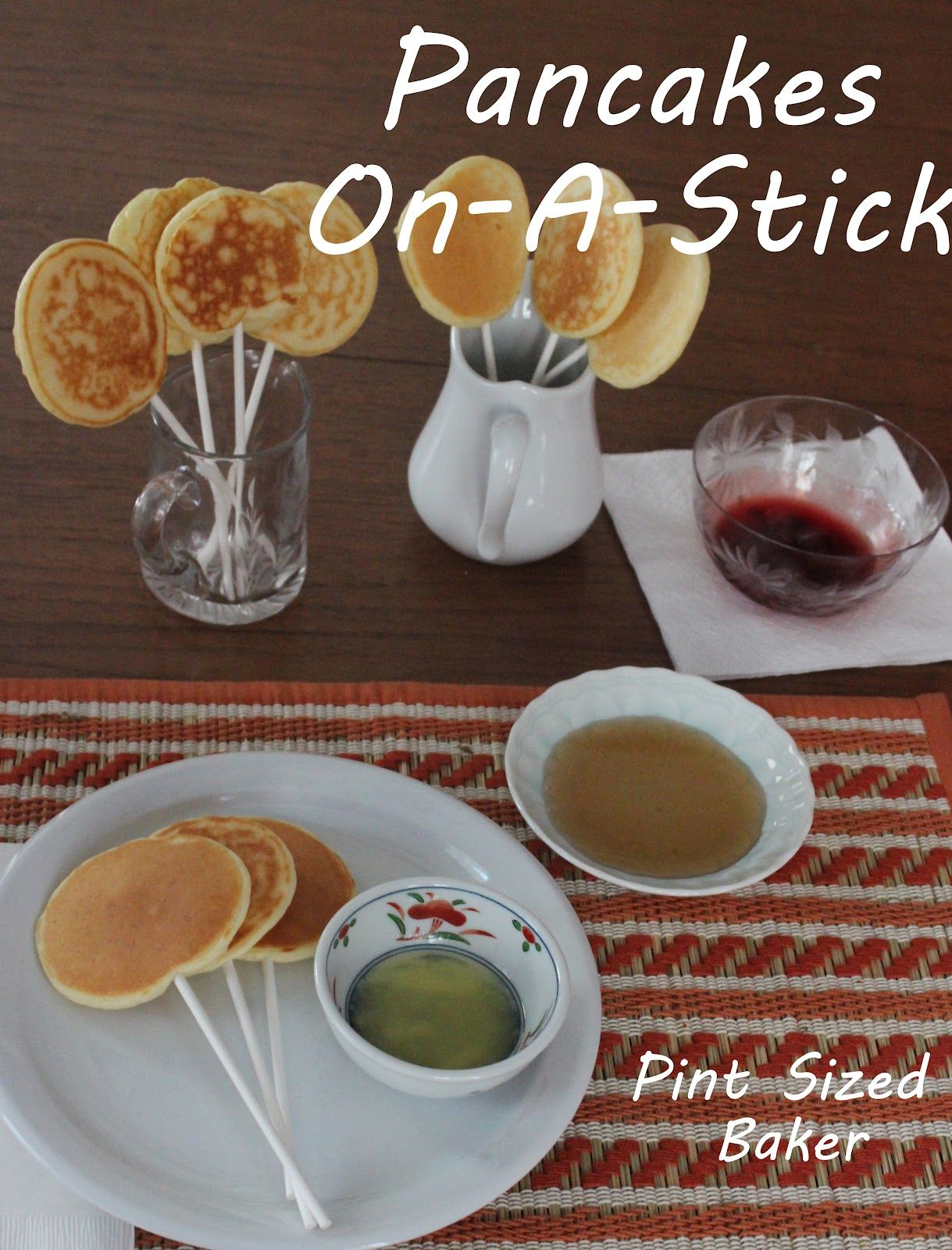 Pj and pancakesparty on a stick tasty and easy to make and best of pj and pancakesparty on a stick tasty and easy to make and best of all kids love them ccuart Choice Image