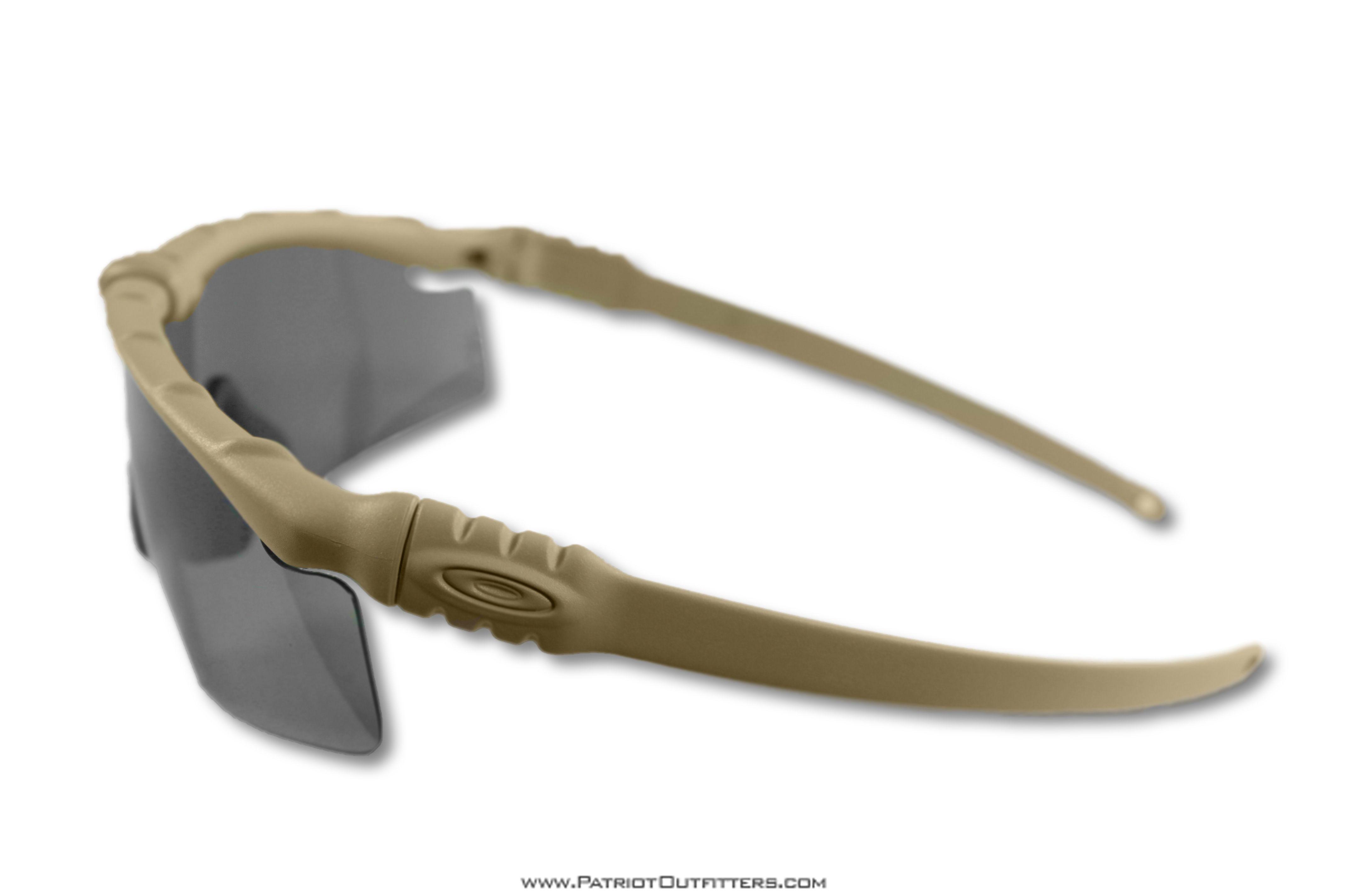 The Oakley M-Frame 3.0 Dark Bone with Grey Lens | Oakley M-Frame 3.0 ...