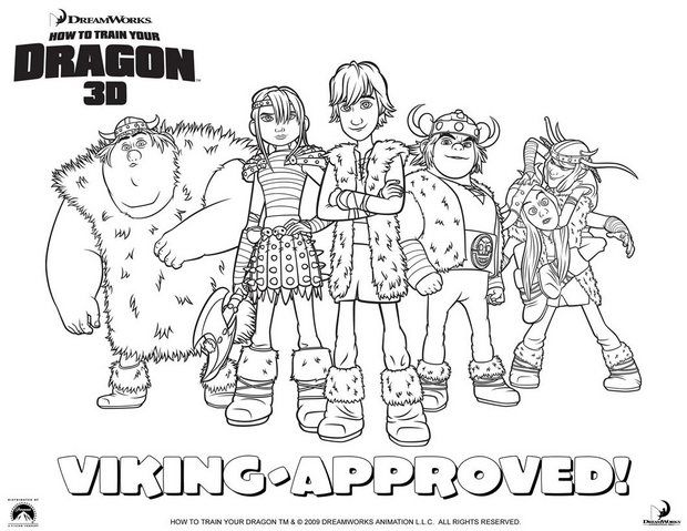 How to Train Your Dragon coloring page  Coloring  Pinterest